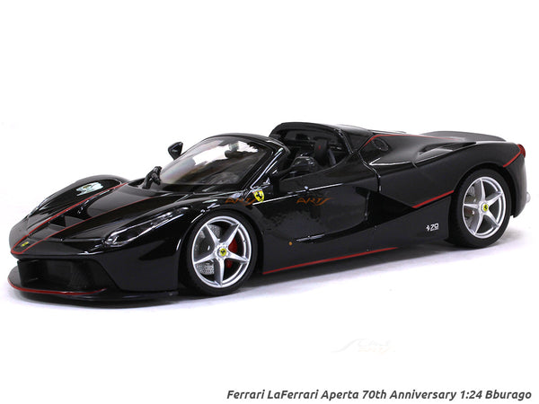 Ferrari LaFerrari Aperta 70th Anniversary 1:24 Bburago diecast Scale Model car