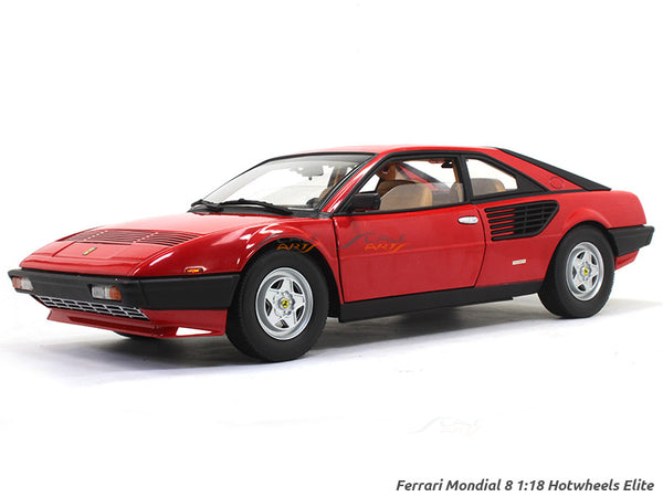 Ferrari Mondial 8 1:18 Hotwheels Elite diecast Scale Model car