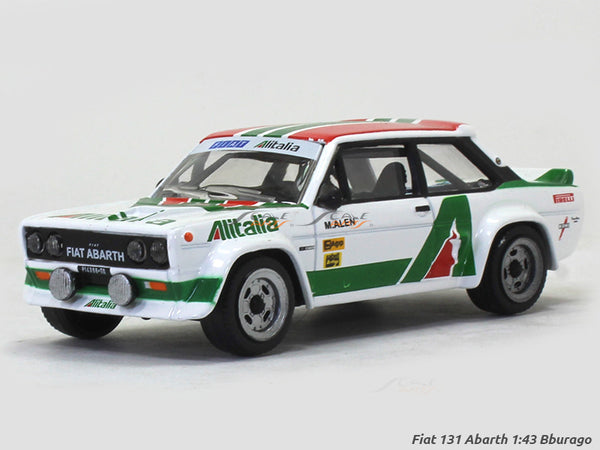 Fiat 131 Abarth 1:43 Bburago diecast Scale Model car