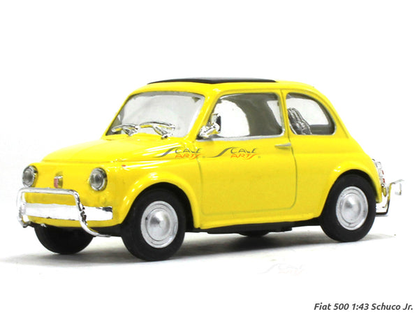 Fiat 500 1:43 Schuco Jr diecast Scale Model Car