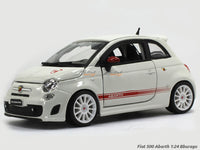 Fiat 500 Abarth 1:24 Bburago diecast Scale Model car