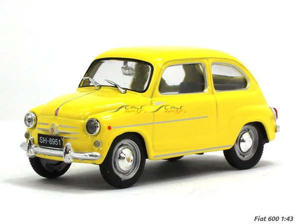 Fiat 600 D 1:43 Atlas diecast scale model car
