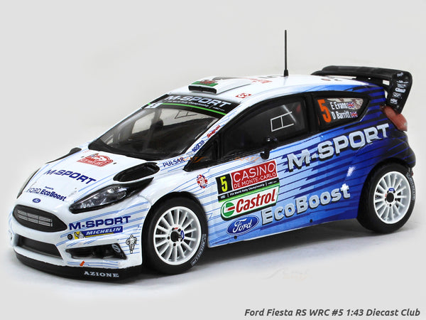 Ford Fiesta RS WRC #5 1:43 Diecast Club scale model car