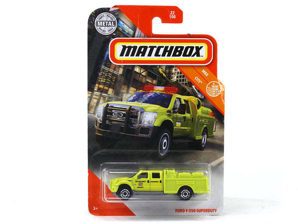 Ford F 550 Superduty 1:64 Matchbox collectible scale model car
