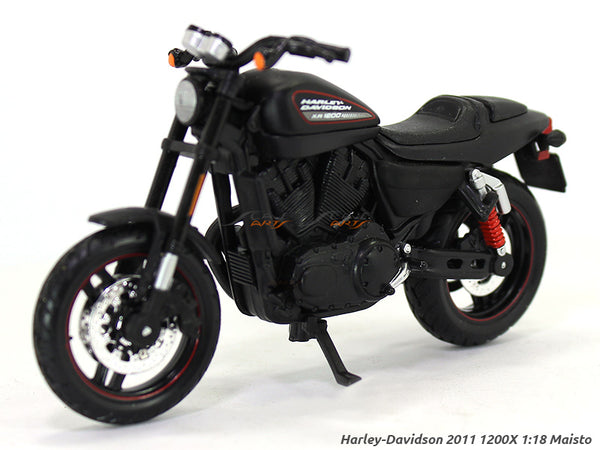 2011 XR 1200X black Harley Davidson 1:18 Maisto diecast scale model bike