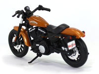 2014 Sportster Iron 883 Orange Harley Davidson 1:18 Maisto diecast scale model bike