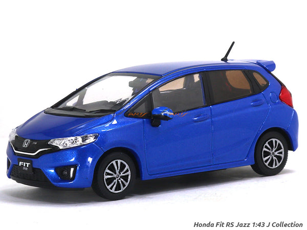 Honda Fit Jazz blue 1:43 PremiumX diecast Scale Model Car