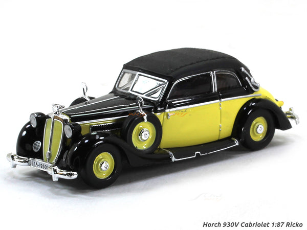 Horch 930V Cabriolet closed 1:87 Ricko HO Scale Model car