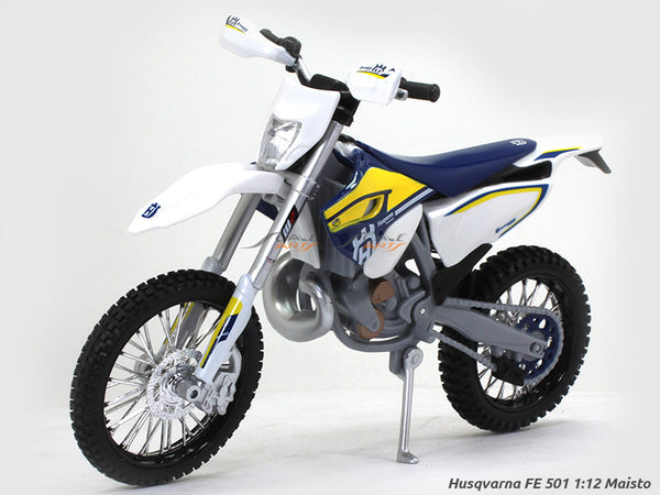 Husqvarna FE 501 1:12 Maisto diecast Scale Model bike