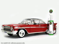 Indian Gasoline Service Gas Pump set 1:18 Road Signature Yatming diecast model