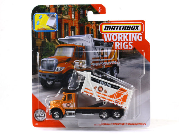 International Workstar 7500 Dump Truck 1:64 Matchbox collectible