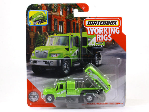 International Workstar Street Cleaner 1:64 Matchbox collectible