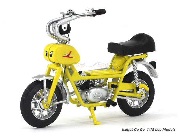 Italjet Go Go 1:18 Leo Models diecast scale model bike