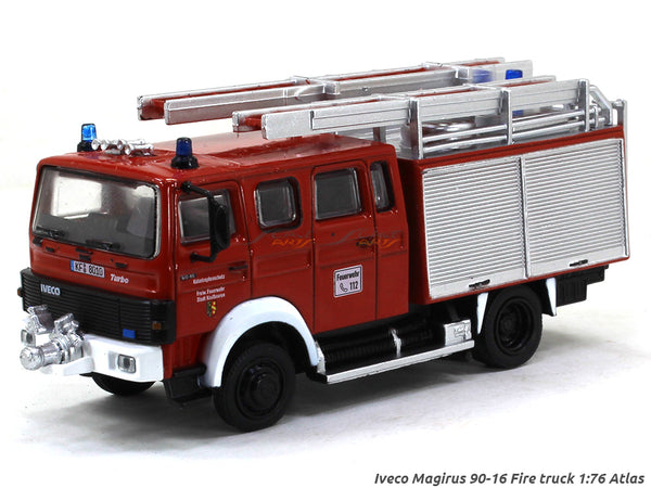 Iveco Magirus 90-16 Fire truck 1:76 Atlas diecast scale model truck