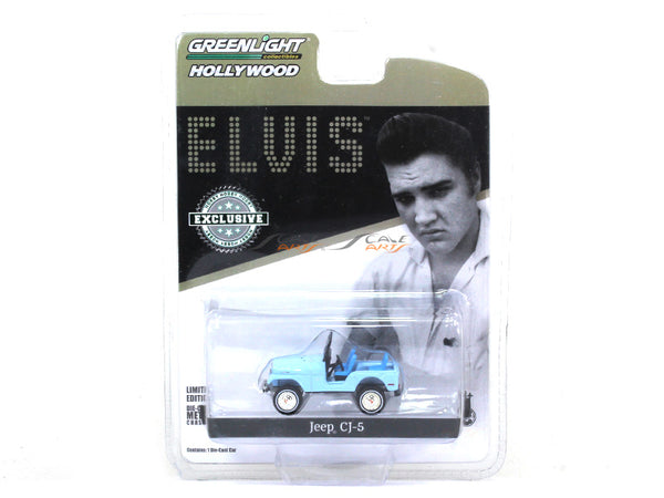 Jeep CJ 5 Elvis Presley 1:64 Greenlight diecast Scale Model car