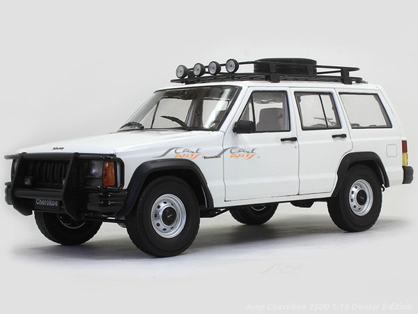 Jeep Cherokee 2500 1:18 Dealer Edition diecast Scale Model Car