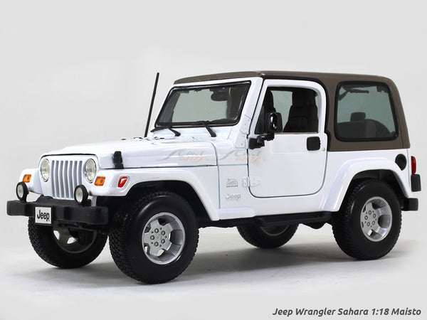 Jeep Wrangler Sahara 1:18 Maisto diecast Scale Model car