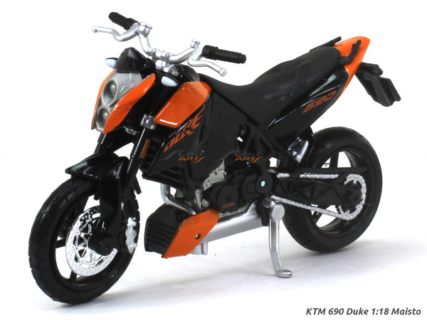 KTM 690 Duke 1:18 Maisto diecast scale model bike