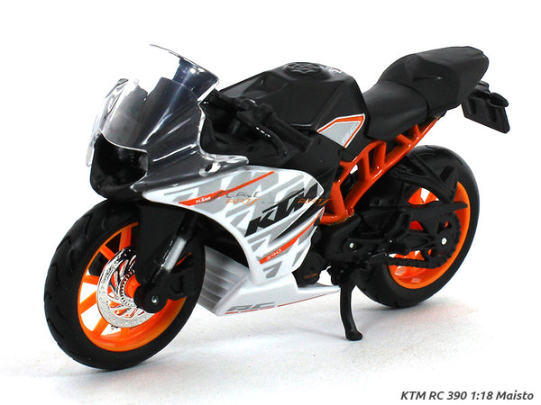 KTM RC 390 1:18 Maisto diecast scale model bike