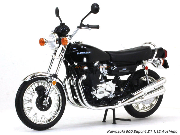Kawasaki 900 Super4 Z1 1:12 Aoshima diecast Scale Model bike