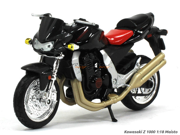 Kawasaki Z 1000 1:18 Maisto diecast scale model bike