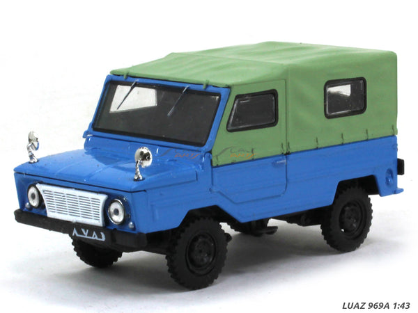 LUAZ 969A 1:43 diecast Scale Model Car