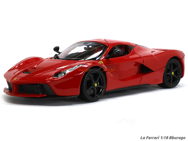 LaFerrari 1:18 Bburago diecast scale model car