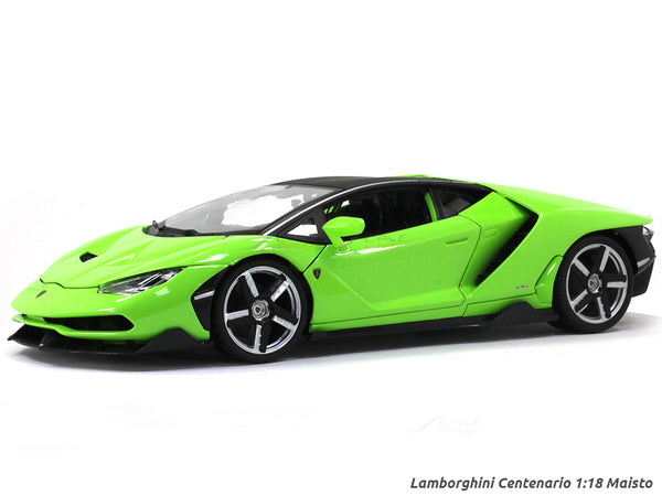 Lamborghini Centenario green 1:18 Maisto diecast Scale Model car