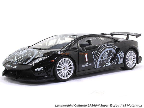 Lamborghini Gallardo LP560-4 Super Trofeo 1:18 Motormax diecast scale model car