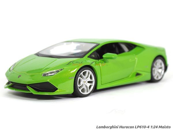 Lamborghini Huracan LP610-4 green 1:24 Maisto diecast Scale Model car