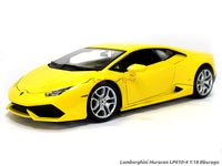 Lamborghini Huracan LP610-4 yellow 1:18 Bburago diecast Scale Model car