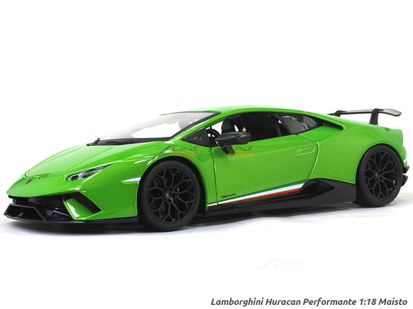 Lamborghini Huracan Performante 1:18 Maisto diecast Scale Model car
