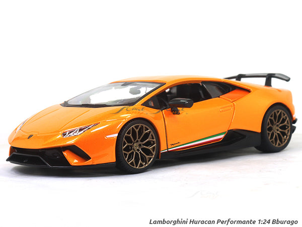 Lamborghini Huracan Performante 1:24 Bburago diecast Scale Model car
