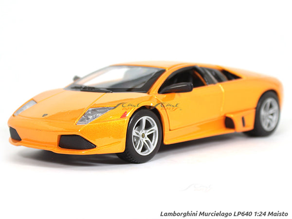 Lamborghini Murcielago Lp640 Orange 1 24 Maisto Diecast Scale Model