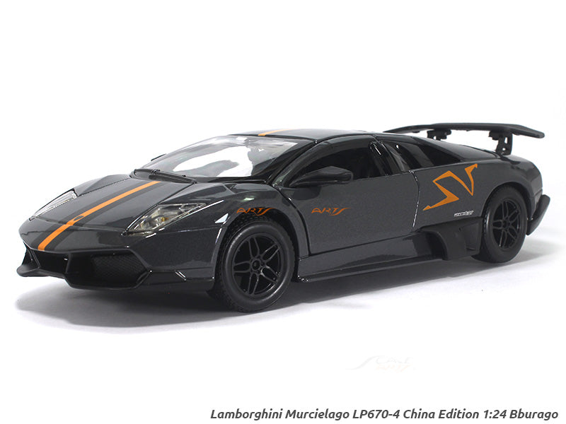 Lamborghini Murcielago Lp670 4 Sv China Limited Edition 1 24 Bburago