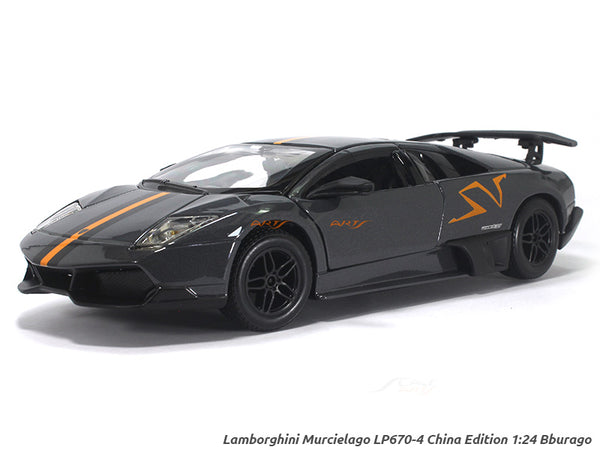 Lamborghini Murcielago LP670-4 SV China Limited Edition 1:24 Bburago diecast Scale Model car