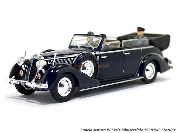 1938 Lancia Astura Iv Serie Ministeriale 1:43 Starline diecast Scale Model Car
