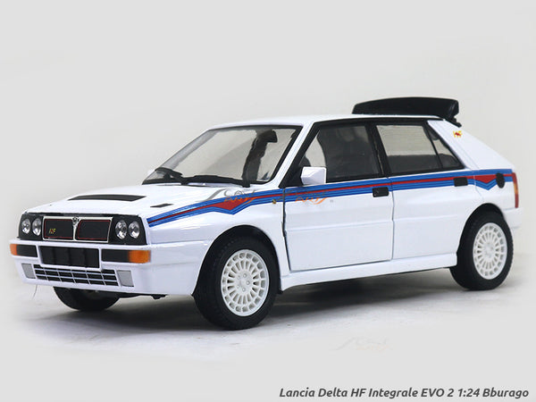 Lancia Delta HF Integrale EVO 2 1:24 Bburago diecast Scale Model car