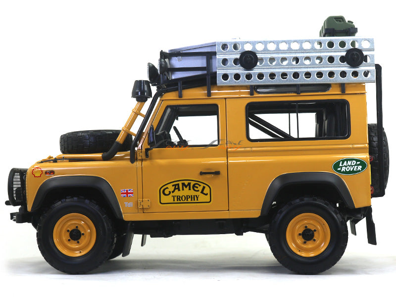 Land Rover Defender 90 Camel Trophy Edition 1 18 Almost Real Diecast S Scale Arts India