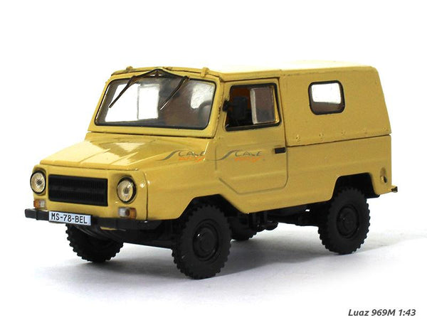 Luaz 969M 1:43 diecast scale model car