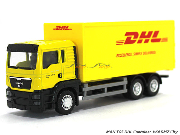 MAN TGS DHL 1:64 RMZ City diecast Scale Model Truck