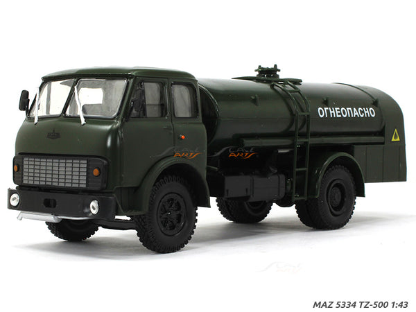 MAZ 5334 TZ-500 1:43 diecast Scale Model Truck