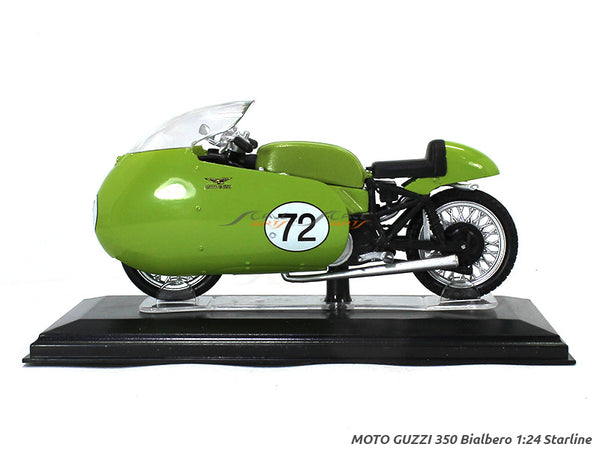 Moto Guzzi 350 Bialbero 1:24 Starline diecast Scale Model Bike