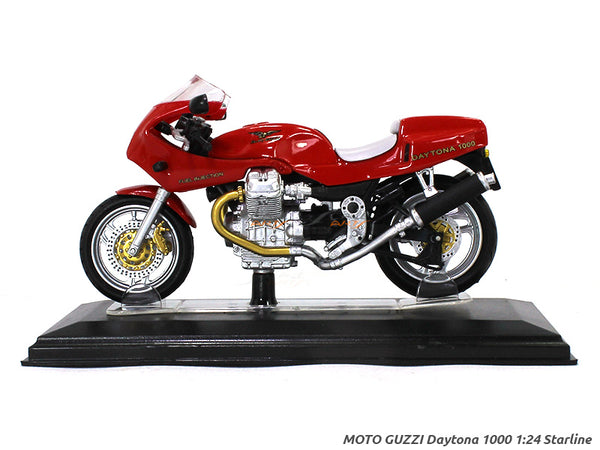 Moto Guzzi Daytona 1000 1:24 Starline diecast Scale Model Bike