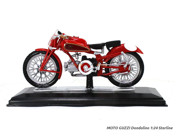 Moto Guzzi Dondolino 1:24 Starline diecast Scale Model Bike