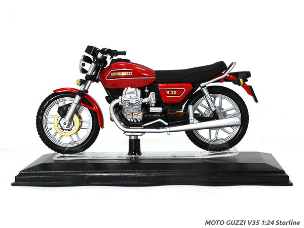 Moto Guzzi V35 1:24 Starline diecast Scale Model Bike
