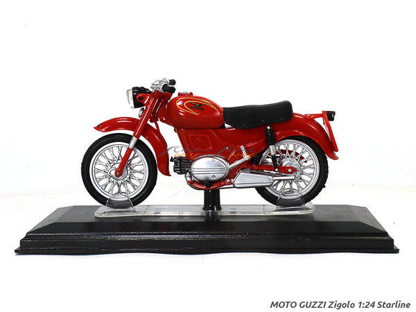 Moto Guzzi Zigolo 1:24 Starline diecast Scale Model Bike