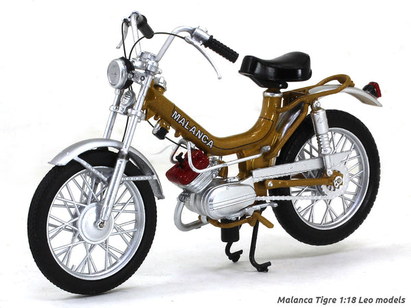 Malanca Tigre 1:18 Leo Models diecast scale model bike