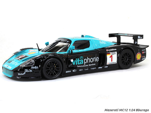 Maserati MC12 1:24 Bburago diecast Scale Model car