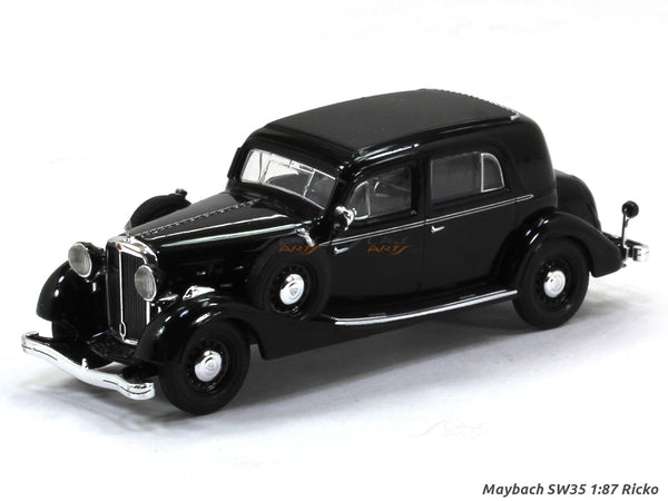 Maybach SW35 1:87 Ricko HO Scale Model car